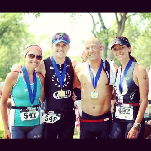 P2 teammates + finishers, erin and nick and chris and sarah!