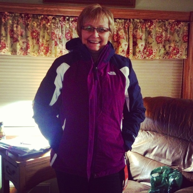 warm jackets are a must in hallock.
