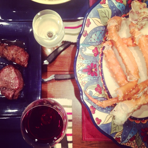 crab + filet = amazing.